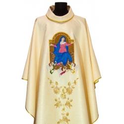 Biały ornat Maryjny